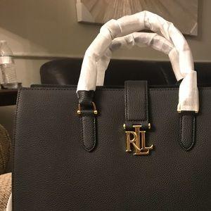 Ralph Lauren satchel in black